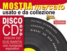 Mostra Mercato del Disco Usato 2014 al 105 Stadium di Rimini