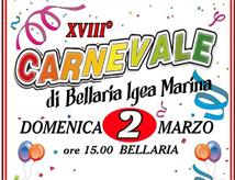 Festa di Carnevale 2014 a Bellaria Igea Marina