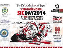 Motomemorial SicDay 2014 a Coriano e al Misano World Circuit