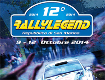 Rally Legend 2014 a San Marino
