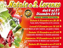 Natale 2014 nel quartiere San Lorenzo di Riccione