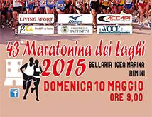 43esima Maratonina dei Laghi a Bellaria Igea Marina