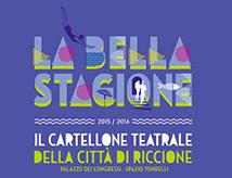 Stagione teatrale La Bella Stagione 2015/2016 a Riccione