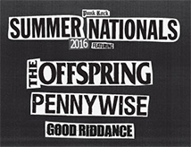 Concerto The Offspring, Pennywise e Good Riddance a Rimini