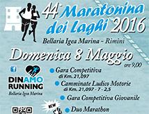 44esima Maratonina dei Laghi a Igea Marina