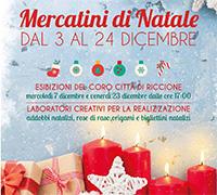 Mercatini di Natale 2016 al Centro Commerciale Perla Verde di Riccione