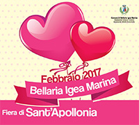 Fiera di Sant'Apollonia e San Valentino 2017 a Bellaria Igea Marina