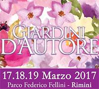 Giardini d'Autore Primavera 2017 a Rimini