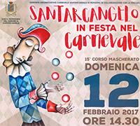 Carnevale 2017 a Santarcangelo di Romagna