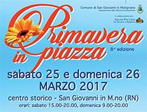 Primavera in Piazza 2017 a San Giovanni in Marignano