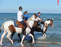 A Cavallo del Mare a Cervia, edizione Primavera 2017