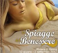 Le Spiagge del Benessere 2017 a Rimini