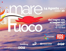 Ferragosto 2017 a Rimini: Un Mare di Fuoco