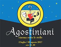 Cinema sotto le stelle 2017 a Rimini: Agostiniani Estate