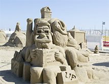 World Master di Sculture di Sabbia 2017 a Cervia