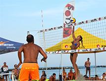 Kiklos Sand Volley 2017 a Bellaria Igea Marina