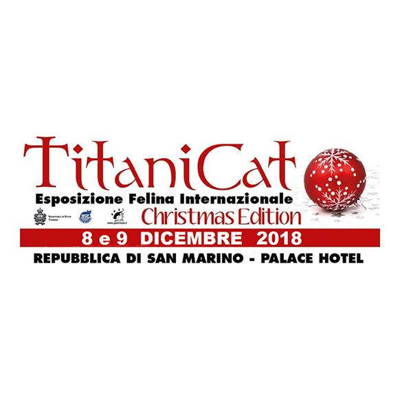 Titanicat Christmas Edition 2017 a San Marino