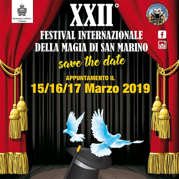 Festival Internazionale della Magia 2018 a San Marino