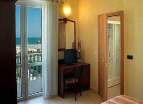 Balcone - Rimini - Marina Centro - hotel rex - Hotel tre Stelle