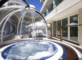 Garage - Rimini - Hotel tre Stelle - hotel cristallo