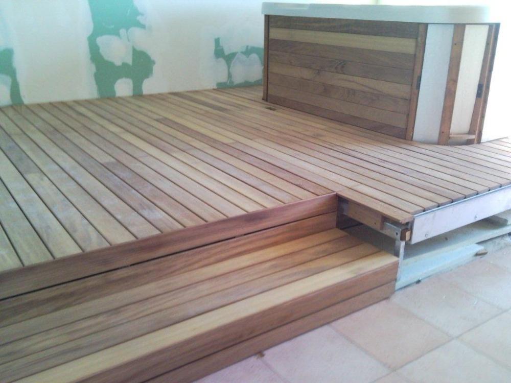 Pavimenti per piscina legno una fonte di ispirazione per - Legno resistente per esterni ...