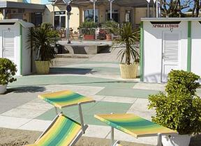 hotel acquario - Torre Pedrera - Hotel tre Stelle - Balcone