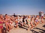balli di gruppo in spiaggia