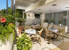 Solarium - Hotel tre Stelle - Bellariva - hotel acerboli