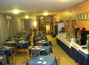 Viserbella - hotel viking - Sala TV - Hotel 3 Stelle