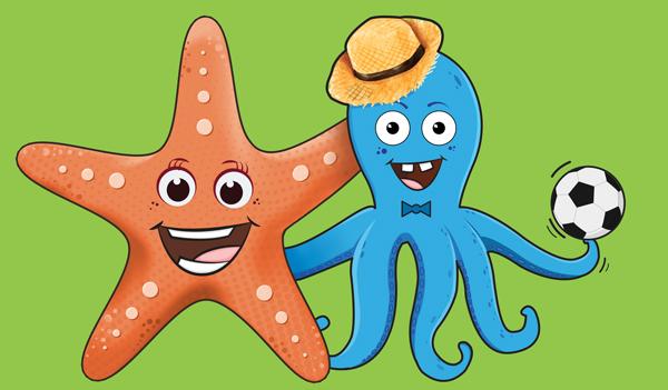 Nina e Spruzzo, le nuove mascotte di Hotel Fabrizio