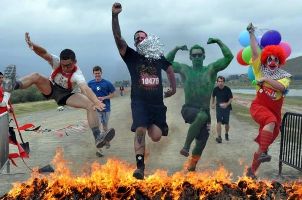 Warrior Dash, corsa, ostacoli e divertmento