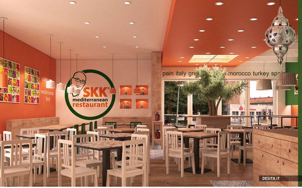 Casual restaurant design ideas