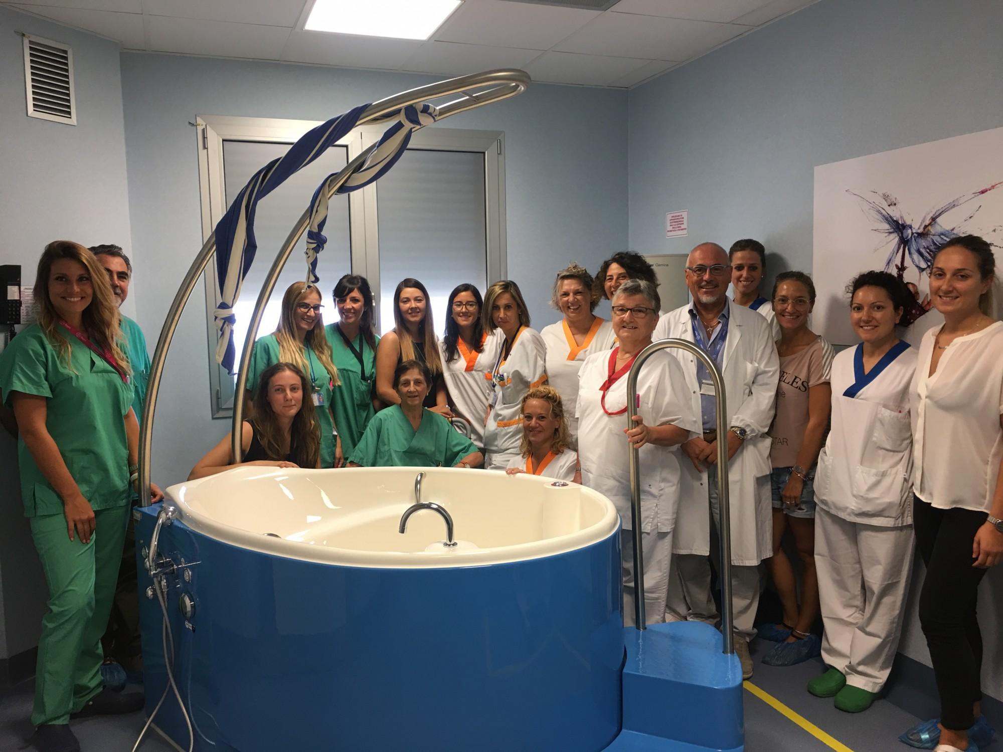 Vasca Da Parto : Inaugurazione vasca da parto