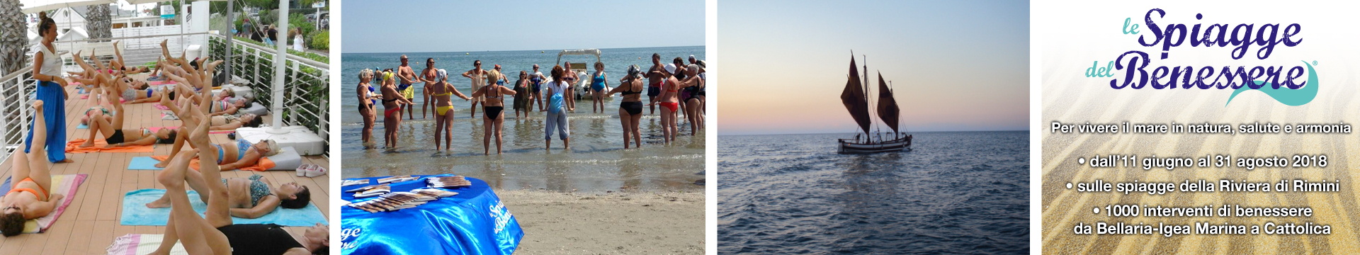 spiagge del benessere Rimini