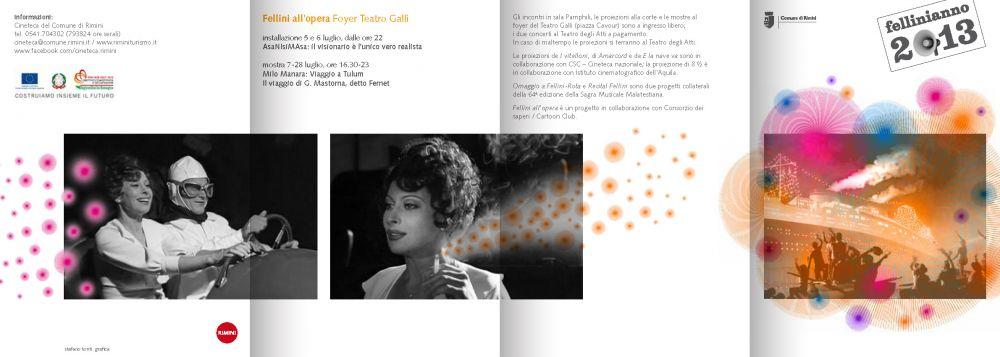 programma fellinianno 2013 estate Rimini