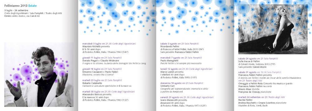programma fellinianno 2013 Rimini