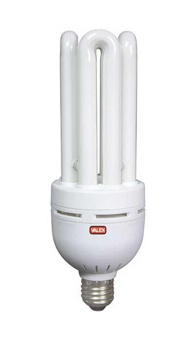 lampadina basso consumo : Lampadina basso consumo 4 tubi 45W E27 luce calda 1155386 VALEX ...