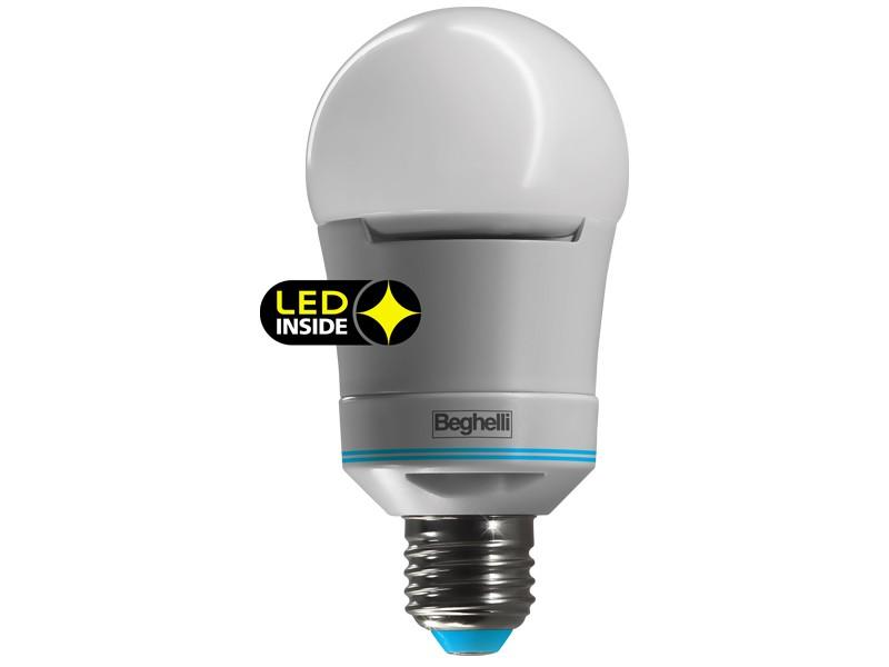Lampadina Sorpresa POWERLed anti black-out E27 10W luce CALDA 56300 ...