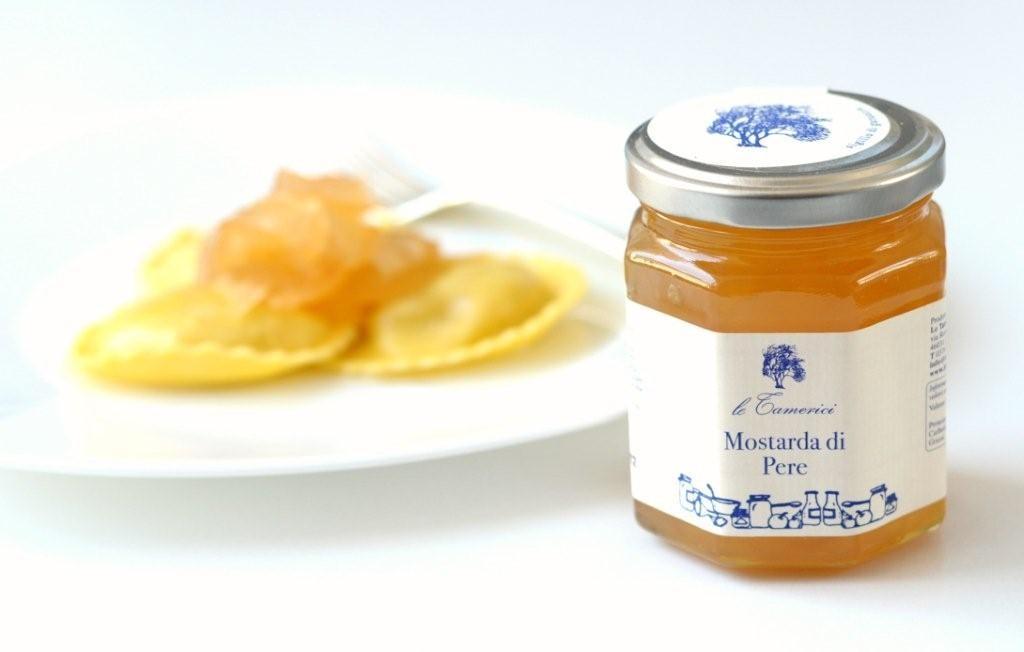 Sale of pear mostarda pickles online sale of pear for Mostarda di pere mantovana