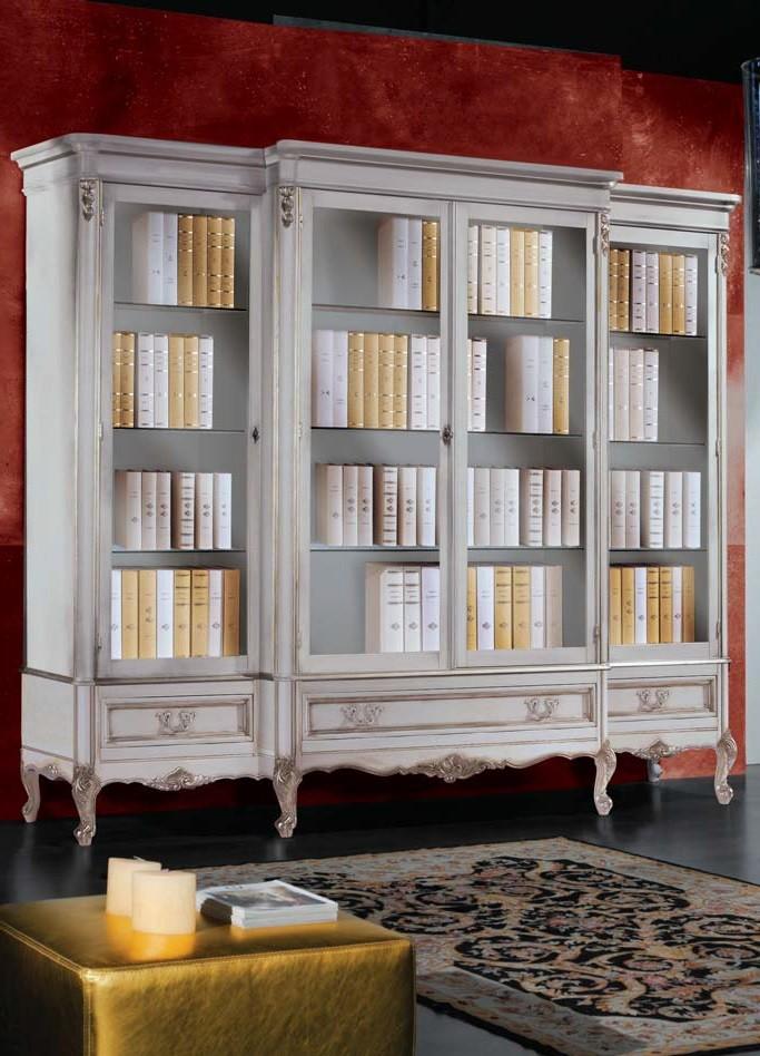 vendita camerette barocco in genova : caratteristiche libreria barocco art 730 libreria in stile barocco ...