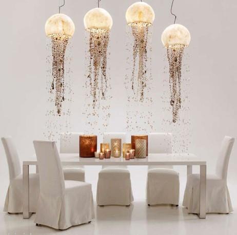 Lampada Design Medusa  Lampade del Mare  Lampade  Fior di Loto Riccione