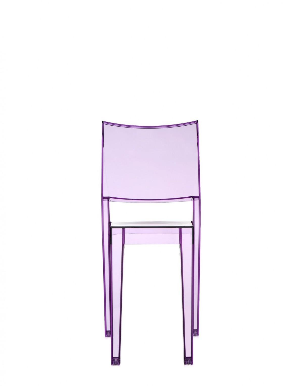 La marie sedia kartell 4850 b6 violetto sedie mobili e - Sedia kartell trasparente ...