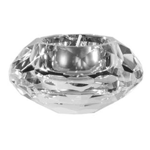 Portacandele da tavolo in vetro diamond leonardo 70067 - Portacandele da tavolo ...