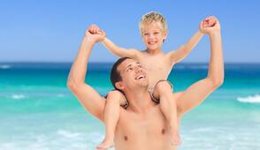 Rimini vacanze al mare in Hotel  per genitori single con mini club