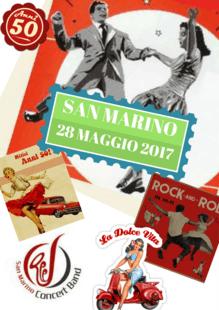 28 Maggio 2017 - Musica e Danza '50 - San Marino