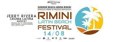 Rimini Latin Beach Festival - 14 agosto