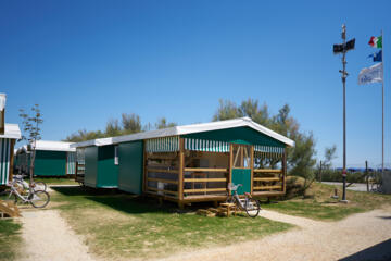 May offer: glamping stay at seaside Bibione-based camping