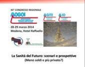 SANITA' DEL FUTURO: SCENARI E PROSPETTIVE