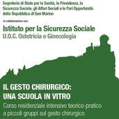 23-24.11.2018 IL GESTO CHIRURGICO: LA SUTURA LAPAROSCOPICA