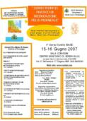 15-16.06.2007 CORSO DI RIABILITAZIONE DEL PAVIMENTO PELVICO